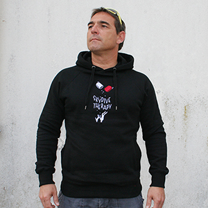 skydive therapy hoodie